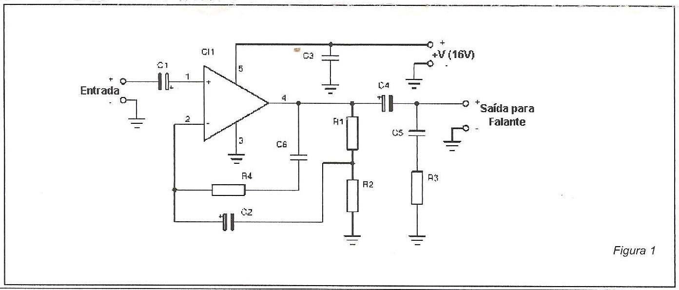 Circuito Eletronica : Mundo eletronica: circuito amplificador de 10w