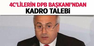 4/C li Çalışanların Devlet Personel Başkanından Kadro Talebi