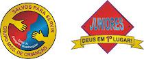 Grupo Missionário de crianças e juniores.