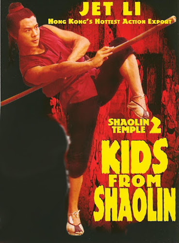 Poster Of Shaolin Temple 2 (1984) In Hindi Chinese Dual Audio 100MB Compressed Small Size Mobile Movie Free Download Only