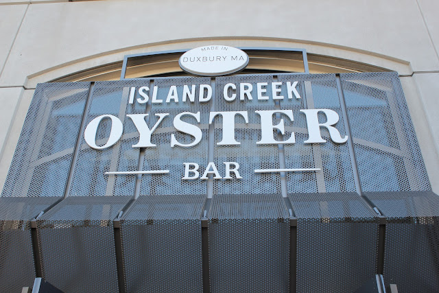 Island Creek Oyster Bar, Boston, Mass.