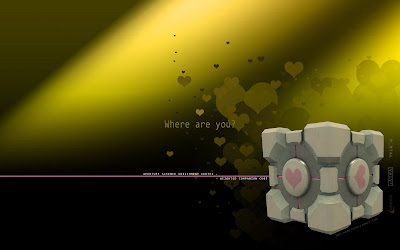 portal cube holy gold