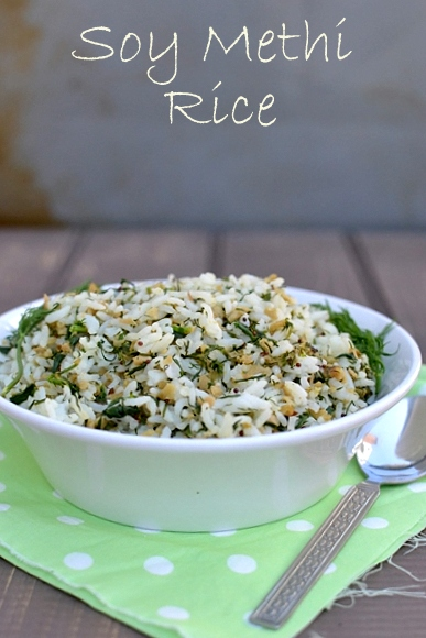 Soy Methi Dill Rice