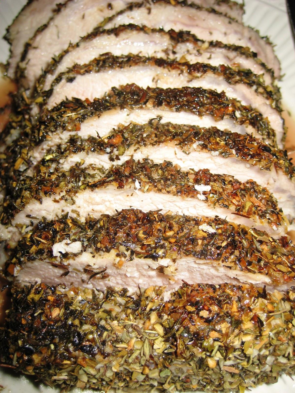 Mmmm Paleo: Roast Pork Loin with Herbes de Provence