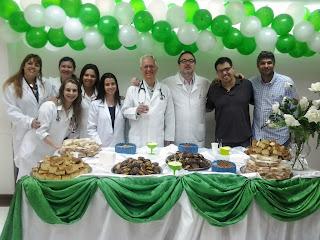 HCTCO promove café da manhã em homenagem a profissionais de Medicina