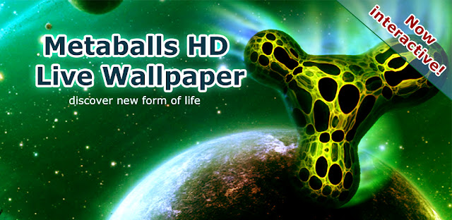 Metaballs HD Live Wallpaper - Featured