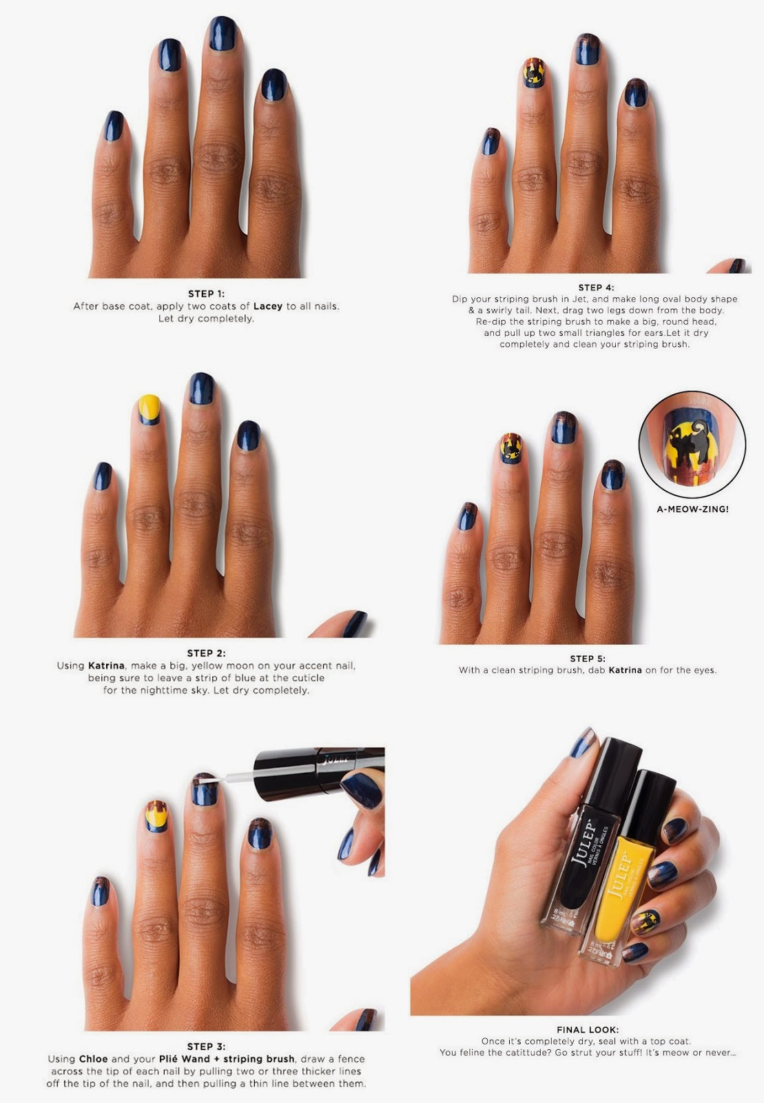 Let\'s Get Wicked | Julep\'s Halloween Nail Art Contest | The Nail ...