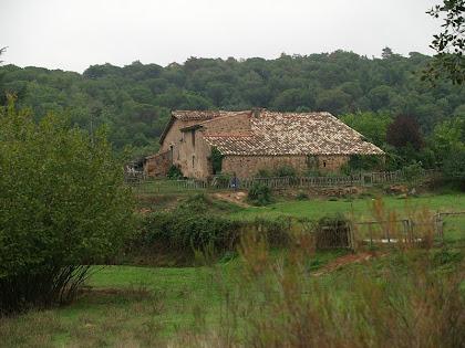La Serra de Vilanova vista des del primer avituallament