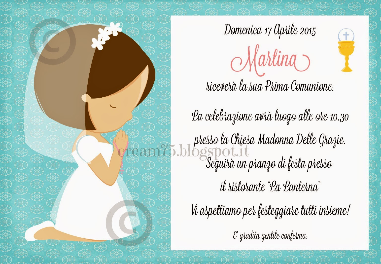 Favoloso My Sweet Blog: aprile 2015 MN59