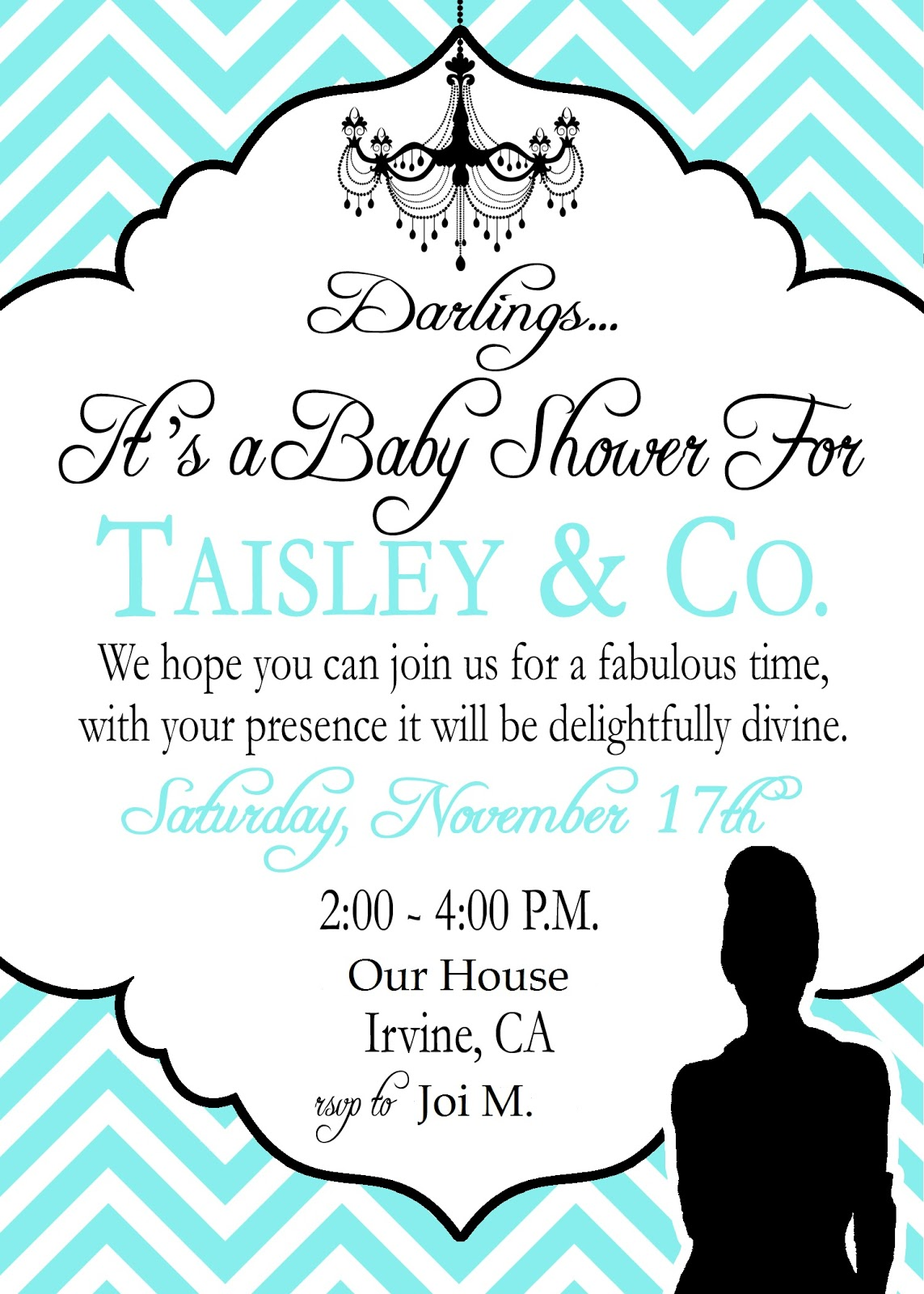 Tiffany Blue Baby Shower Theme