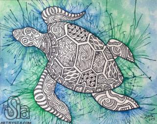 Links Earth Art International Zentangle Animals Pinterest Boards