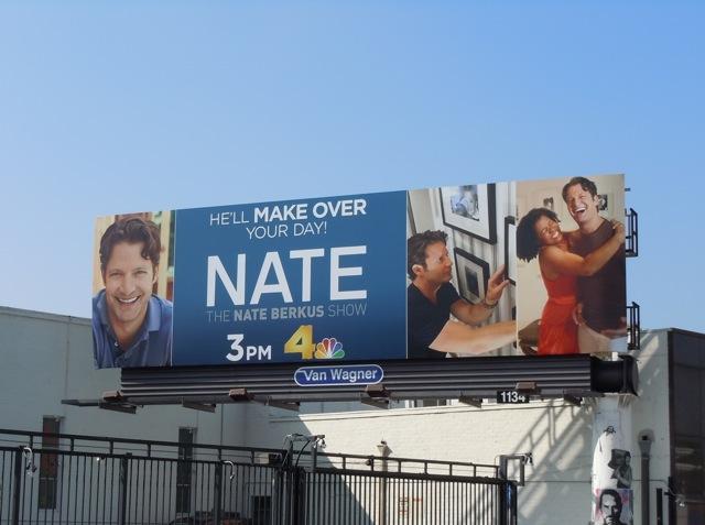 Nate Berkus Show billboard