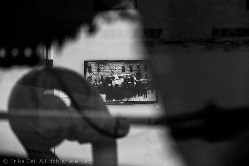 La carrozza funebre con la salma di Francesco Ferdinando