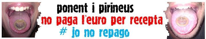 Ponent i pirineus no paga l'euro