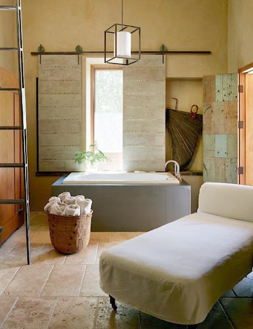 Chicdeco blog 10 preciosos ba os r stico chic10 gorgeous rustic chic bathrooms - Rustic chic bathroom ...