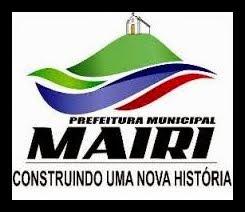 Portal da Prefeitura Municipal de Mairi-Ba