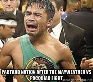Memes Mayweather vs Pacquiao