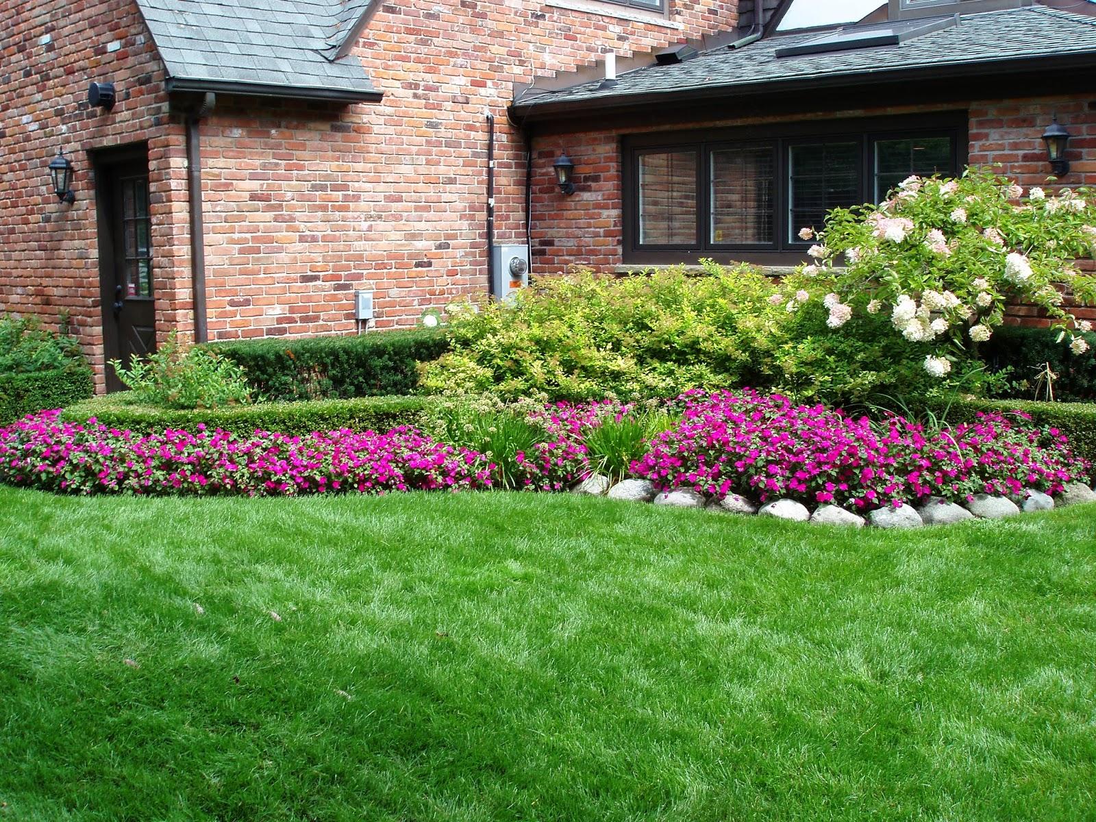 Home Landscaping Ideas Flower Design Ideas