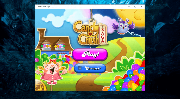 candy crush saga  for windows laptop