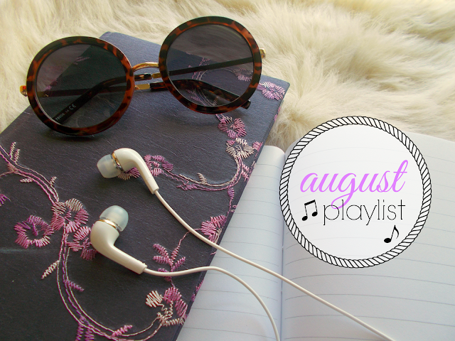 My August Playlist including songs from One Direction, FKA twigs, Foxes, Salt-N-Pepa & Maven Fiction!