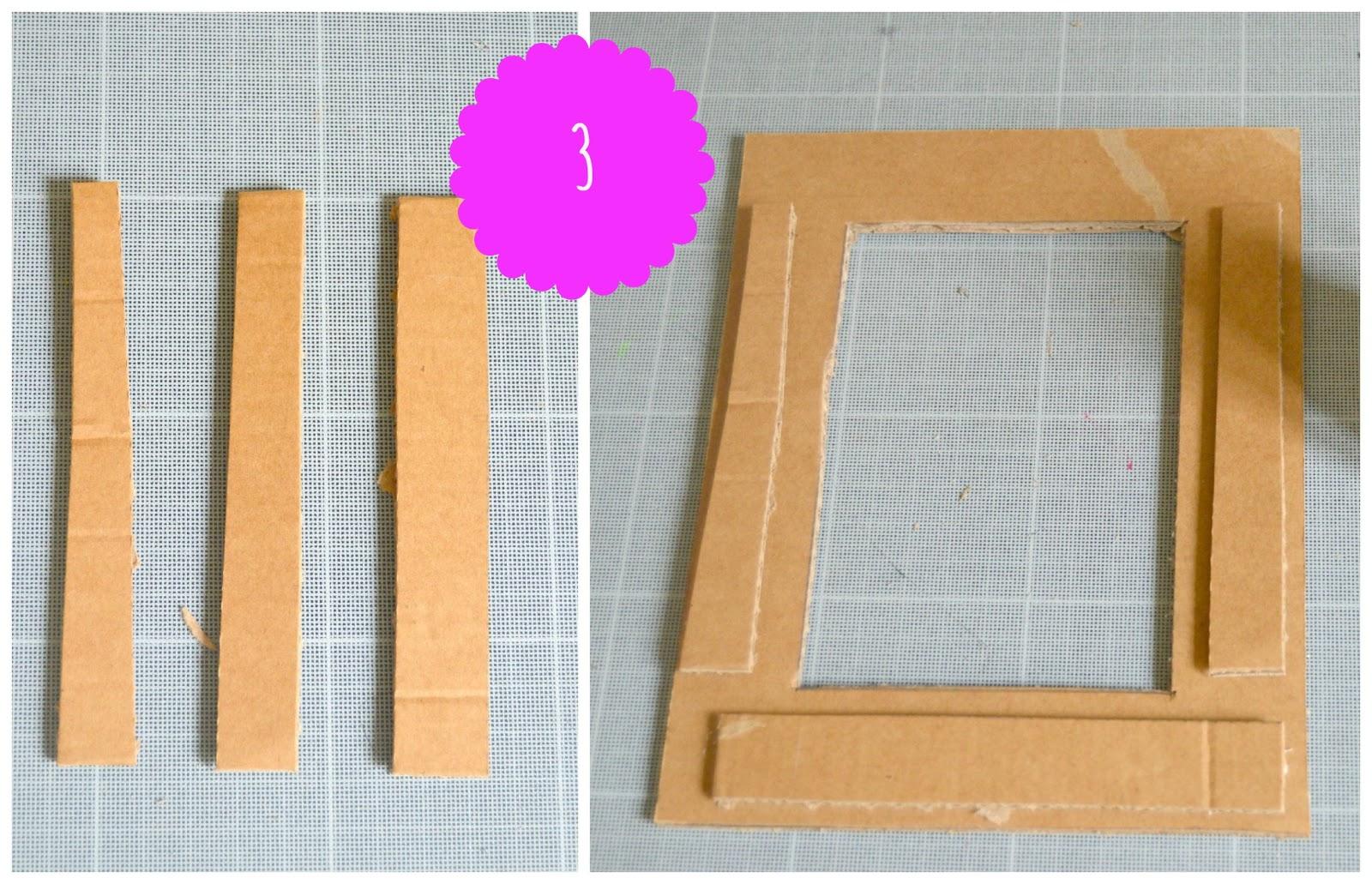 Favoloso Idee per la festa della mamma: la cornice di cartone riciclato GS68