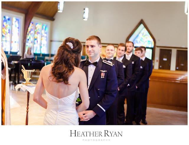 St. Patrick's Catholic Church Wedding | Photos by Heather Ryan Photography