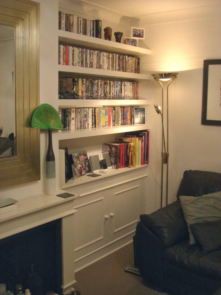 David Dangerous Bookshelves In Alcoves