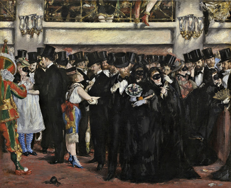 Edouard Manet - Masked Ball at the Opera (1873)