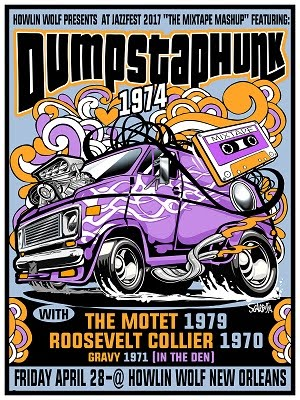 4/28 : The Mixtape Mashup: Dumpstaphunk performs 1974, The Motet performs 1979