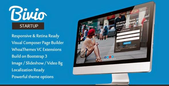 Bivio Bootstrap 3 App Landing Page