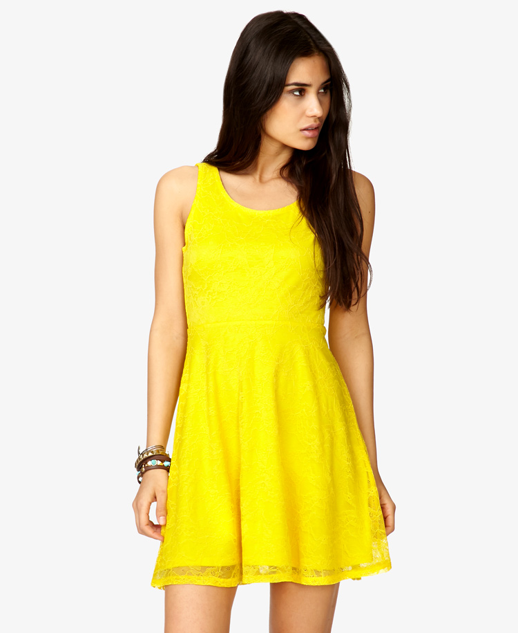 Bright yellow blouse for summers