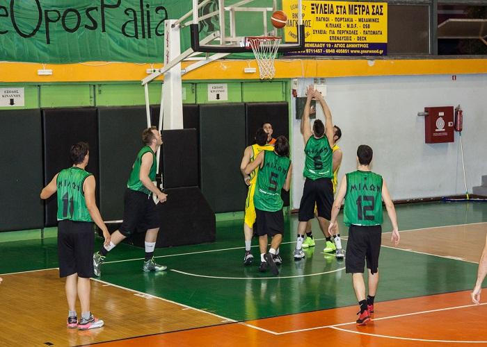 Ομάδα Μπάσκετ Ανδρών 2015 - 2016