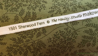 1501 Sherwood Fern fabric Henly Studio Makower
