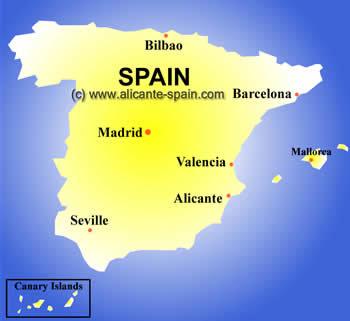 Valence Carte de la ville