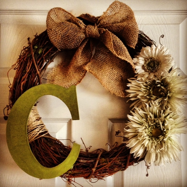 Sugar Spice Diy Personalized Wreath