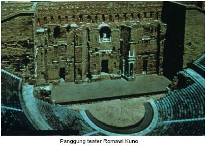 Bentuk-bentukpertunjukan yang terkenal di Zaman Romawi klasik adalah: