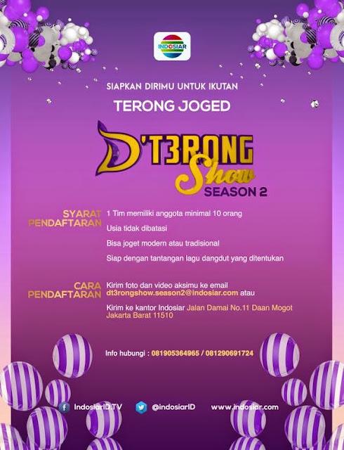 Audisi DTerong Show  Season 2 Indosiar