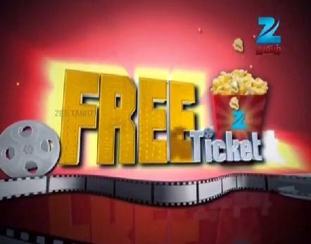 Free Ticket : Episode 772 – April 15, 2014  Zee Tamil Tv Program Show
