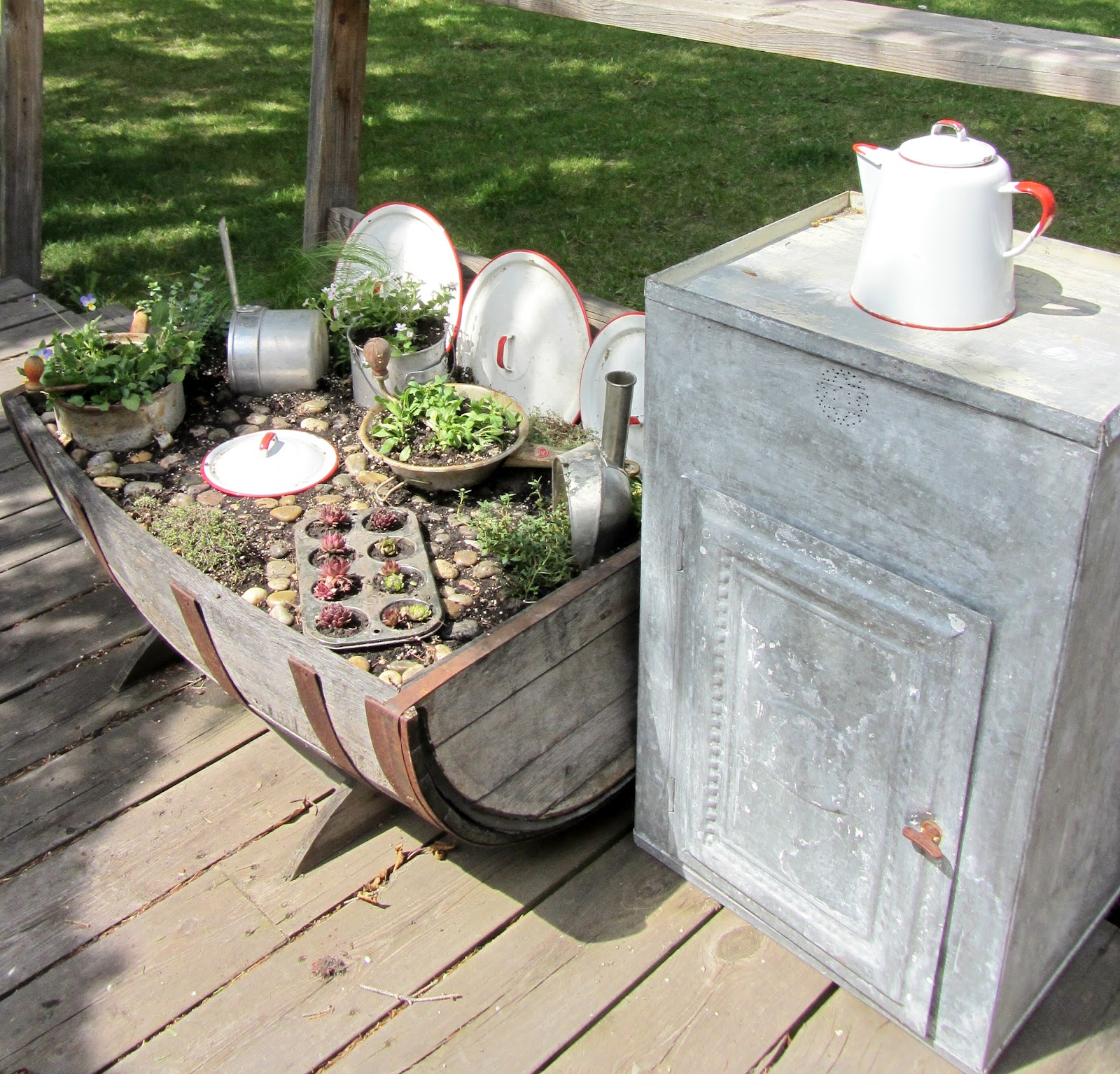 Kitchen Garden Images: Kitchen Fairy Garden