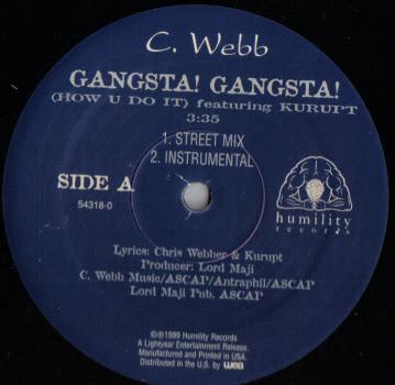 C. Webb Featuring Kurupt – Gangsta! Gangsta! (VLS) (1999) (320 kbps)