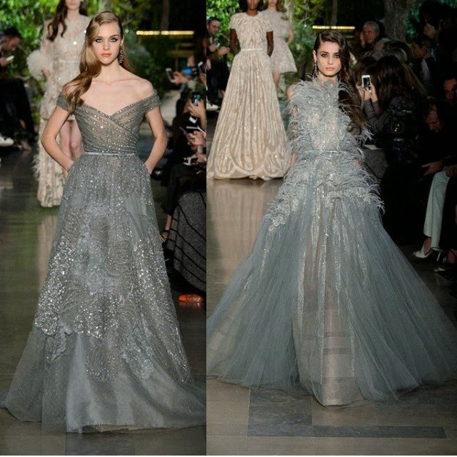 elie saab spring summer 2015 couture pale grey