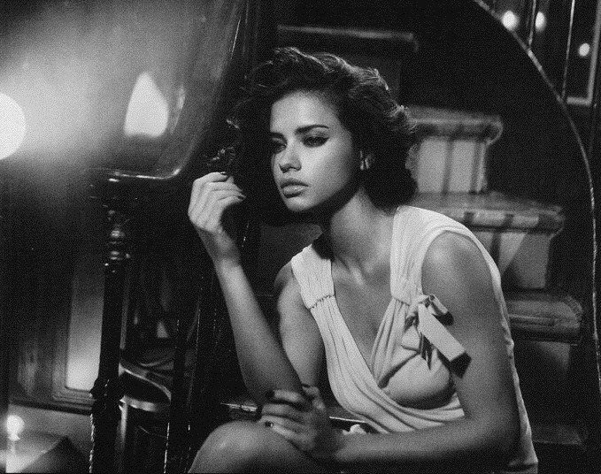 Adriana Lima Smouldering In Vogue Italia February 2011