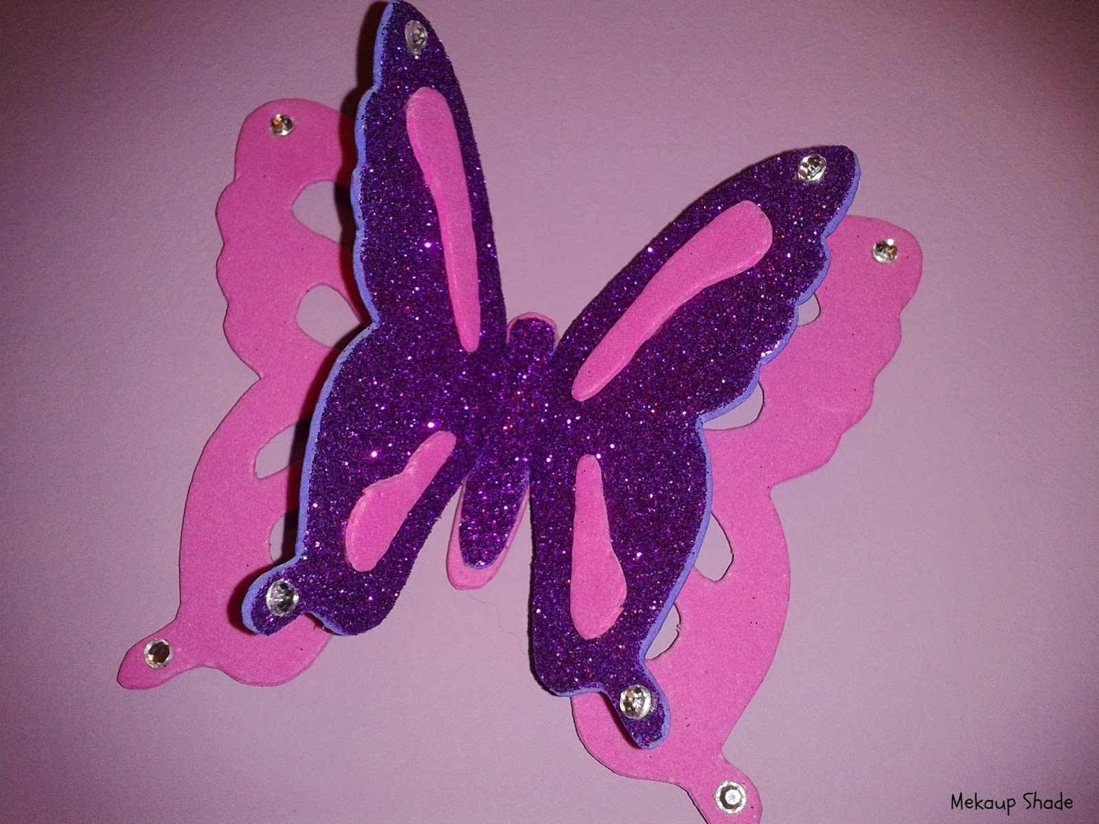 Como hacer mariposas de goma eva imagui - Como hacer mariposas de goma eva ...