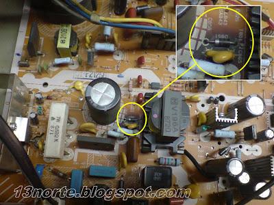 Diodo D851 Panasonic CT-F2125G
