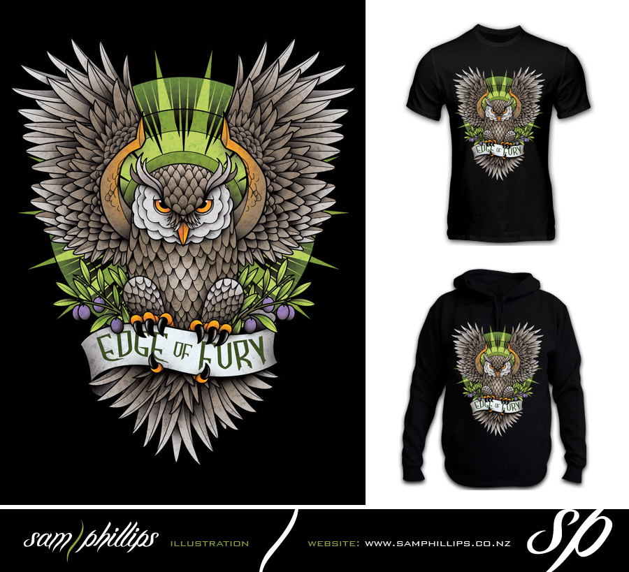 Sams blog june 2011 T shirt with owl design