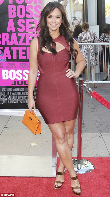 Jennifer Love-Hewitt in Herve Leger at the Los Angeles premiere of ...