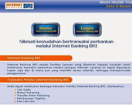 Cara Menggunakan Internet Banking BRI