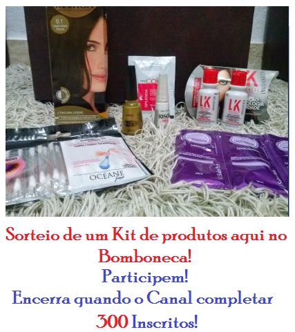 Sorteio no Bomboneca - Kit de produtos!