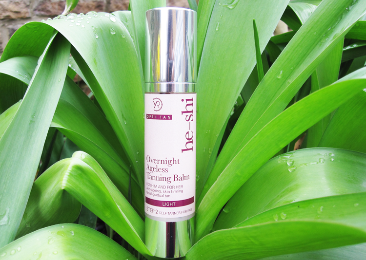 He-Shi Overnight Ageless Tanning Balm review