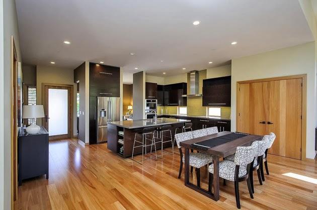 desain rumah dengan dapur outdoor rancangan desain rumah
